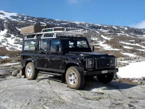 Defender mit Dachzelt (Norwegen 2006)